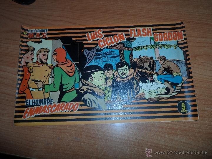 PUBLICACIONES MAS Nº 9 - FLASH GORDON-LUIS CICLON-ELHOMBRE ENMASCARADO (Tebeos y Comics - Tebeos Otras Editoriales Clásicas)