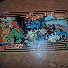 Tebeos: PUBLICACIONES MAS Nº 9 - FLASH GORDON-LUIS CICLON-ELHOMBRE ENMASCARADO. Lote 41784933