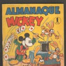 Tebeos: ALMANAQUE MICKEY 1936. WALT DISNEY A-COMIC-3638. Lote 42134706