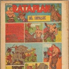 Tebeos: TEBEOS-COMICS CANDY - RATAPLAN - Nº 1 - EL RESCATE - LAFUENTE - 1946 - *BB99+. Lote 42336720