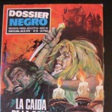 Tebeos: DOSSIER NEGRO Nº 16 TACO IBERO MUNDIAL DE EDICIONES. Lote 42694840