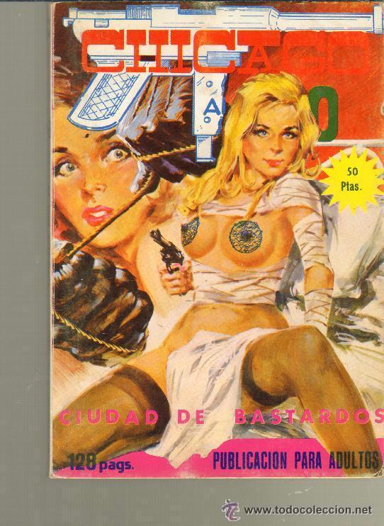 TEBEOS-COMICS CANDY - CHICAGO AÑOS 20 - Nº 18 - ELVIBERIA - 1976 - *DD99 (Tebeos y Comics - Tebeos Otras Editoriales Clásicas)