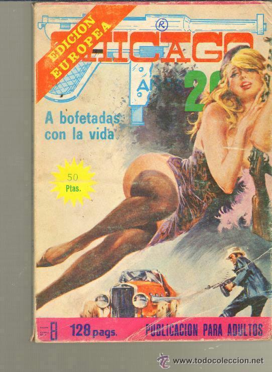 TEBEOS-COMICS CANDY - CHICAGO AÑOS 20 - Nº 9 - ELVIBERIA - 1976 - *BB99 (Tebeos y Comics - Tebeos Otras Editoriales Clásicas)
