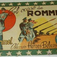 Tebeos: HEROES BELICOS Nº 3 - EL OCASO DE ROMMEL - SIMBOLO 1955 - ORIGINAL. Lote 42755091