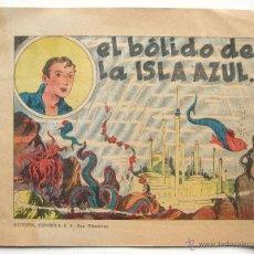 Tebeos: TEBEO COMIC MONOGRAFICO EDITORIAL ESPAÑOLA. Nº 4 EL BOLIDO DE LA ISLA AZUL AÑO 1939. Lote 42956078