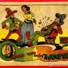 Tebeos: CHARLES TONN ENTRE MANITOS , 50 CTS. EDITORIAL LERSO , ANTIGUO , ORIGINAL. Lote 43010242