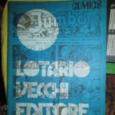 Tebeos: JUMBO AÑO 1974. ESTUDIO SOBRE EL COMIC CLASICO AMERICANO EN ITALIA. Lote 43117058