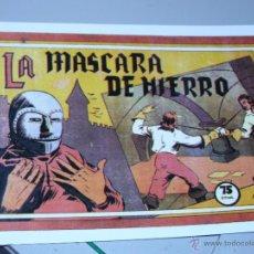 Tebeos: TEBEOS-COMICS CANDY - PELICULAS FAMOSAS - VALENCIANA - 1941 - LA MASCARA DE HIERRO *AA99. Lote 43148890