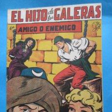 Tebeos: EL HIJO DE LAS GALERAS - , NUMERO 8 , AMIGO O ENEMIGO -EDITORIAL GARGA , M GAGO ORIGINAL 1950. Lote 43236691