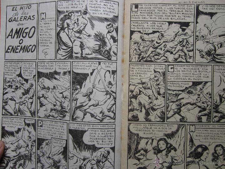 Tebeos: el hijo de las galeras - , numero 8 , amigo o enemigo -editorial garga , M gago original 1950 - Foto 2 - 43236691