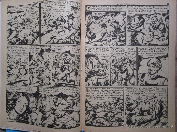Tebeos: el hijo de las galeras - , numero 8 , amigo o enemigo -editorial garga , M gago original 1950 - Foto 3 - 43236691