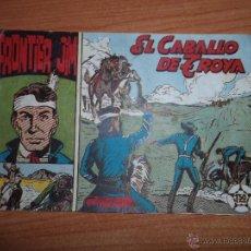 Tebeos: FRONTIER JIM - Nº 3- EL CABALLO DE TROYA - EDITORIAL MATEU 1959. Lote 43240247