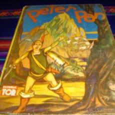 Tebeos: PETER PAN. ED. TOR 1943. TAPAS DURAS. PRE WALT DISNEY. GRÁFICOS COLOR Y B/N. MBE Y MUY DIFÍCIL!!!!!. Lote 43302265