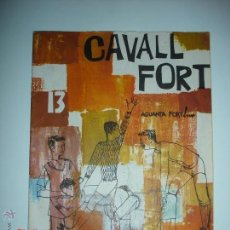 Tebeos: REVISTA CAVALL FORT Nº 13. Lote 43769745