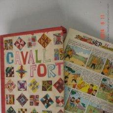 Tebeos: CAJA ARCHIVADOR Nº 1-16 REVISTA CAVALL FORT. Lote 148166577