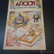 Tebeos: AFICION - PUBLICACION JUVENIL DE COLABORACION - NUMERO 1. Lote 43793201
