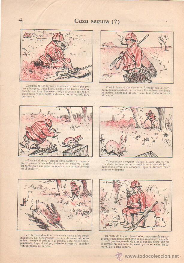Tebeos: MI REVISTA SUPLEMENTO ILUSTRADO PARA NIÑOS Nº 1 ENERO 1919, IMPECABLE - Foto 2 - 43835570