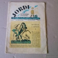 Tebeos: JORDI ,SEMANARIO INFANTIL Nº 2 -1928 -. Lote 43931262