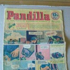 Tebeos: PANDILLA Nº 140 - SEMANARIO DE HISTORIETAS FAMOSAS- 1947. Lote 44211759