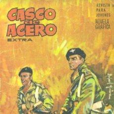 Tebeos: CASCO DE ACERO EXTRA. MATERIAL DE LA BARDON-FLEETWAY. Lote 44483623