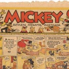 Tebeos: REVISTA INFANTIL ILUSTRADA MICKEY - AÑO I - Nº 36 - 9 NOVIEMBRE 1935. Lote 44964612