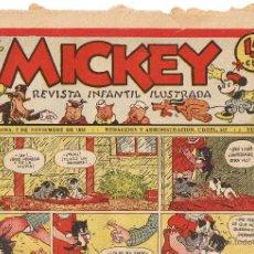 Tebeos: REVISTA INFANTIL ILUSTRADA MICKEY - AÑO I - Nº 35 - 2 NOVIEMBRE 1935 - FOTO ADICIONAL. Lote 44964646