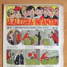 Tebeos: LA ALEGRIA INFANTIL Nº 103 - EDITORIAL GATO NEGRO 1922. Lote 45044986