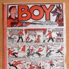 Tebeos: BOY Nº 75 - EDITORIAL GATO NEGRO 1928. Lote 45045849