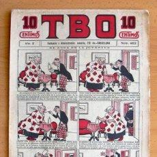 Tebeos: TBO 1ª ÉPOCA Nº 463 - EDITORIAL BUIGAS 1917. Lote 45060784