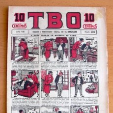 Tebeos: TBO 1ª ÉPOCA Nº 299 - EDITORIAL BUIGAS 1917. Lote 45062271