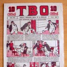 Tebeos: TBO 1ª ÉPOCA Nº 331 - EDITORIAL BUIGAS 1917. Lote 45062291
