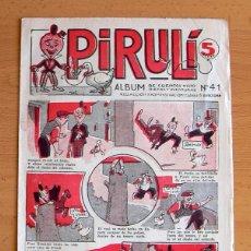 Tebeos: PIRULI Nº 41 - EDITORIAL EL GATO NEGRO 1928. Lote 45062646