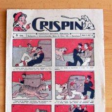 Tebeos: CRISPIN Nº 14 - EDITORIAL GATO NEGRO 1922. Lote 45062824