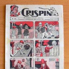 Tebeos: CRISPIN Nº 15 - EDITORIAL GATO NEGRO 1922. Lote 45062851