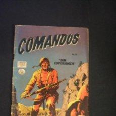 Tebeos: COMANDOS - Nº 16 - 30 ABRIL 1957 - EDITORA DE PERIODICOS SCL - . Lote 45168774