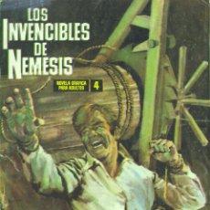 Tebeos: LOS INVENCIBLES DE NEMESIS Nº4 (IBERO MUNDIAL DE EDICIONES, 1969). Lote 45284573