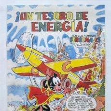 Tebeos: UN TESORO DE ENERGIA, BLANQUITA SUPER PUMBY, Y OTROS PERSONAJES DE J. SANCHIS. Lote 95314307
