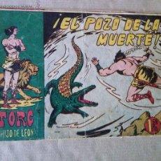 Tebeos: TORG HIJO DE LEON Nº 16 - ANDALUZA. Lote 45731131