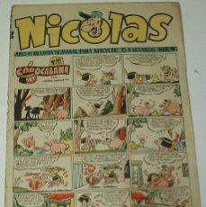 Tebeos: NICOLAS Nº 168 -- GERPLA - - ORIGINAL- IMPORTANTE LEER ENVIOS. Lote 45768494