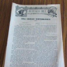Tebeos: EPISODIOS BUFFALO BILL - 59 NÚMEROS COMPLETA SON 60 FALTA EL Nº 2 ESTÁN PREPARADOS PARA ENCUADERNAR. Lote 45932557