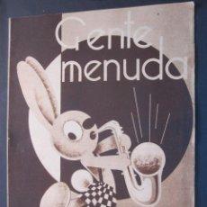 Livros de Banda Desenhada: ANTIGUO TEBEO GENTE MENUDA DE BLANCO Y NEGRO DOMINGO 30 DE OCTUBRE 1932. Lote 45966505