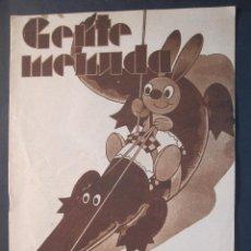 Livros de Banda Desenhada: ANTIGUO TEBEO GENTE MENUDA DE BLANCO Y NEGRO DOMINGO 16 DE OCTUBRE 1932. Lote 45966555