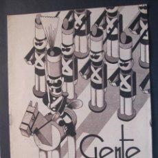 Livros de Banda Desenhada: ANTIGUO TEBEO GENTE MENUDA DE BLANCO Y NEGRO DOMINGO 20 DE NOVIEMBRE 1932. Lote 45966780