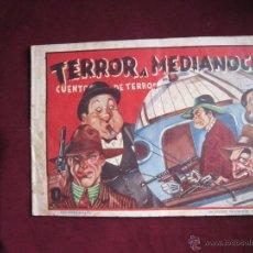 Tebeos: TERROR A MEDIANOCHE. COLECCIÓN DIAMANTE NEGRO, 28. ORIGINAL. EDICIONES RIALTO. 1944. TEBENI. Lote 46008344