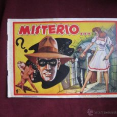 Tebeos: MISTERIO... COLECCIÓN DIAMANTE NEGRO, 38. ORIGINAL. EDICIONES RIALTO. 1944. TEBENI. Lote 46008448
