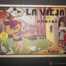 Tebeos: HISTORIETAS GRAFICAS PILARIN-17-ED. AMELLER -VIEJA DE LOS GANSOS -DIBUJOS ENRIQUETA BOMBON-(COM-268). Lote 46139606