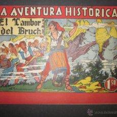 Tebeos: LA AVENTURA HISTORICA - EL TAMBOR DEL BRUCH - PONSA IMPRESOR - (COM - 275). Lote 46158088
