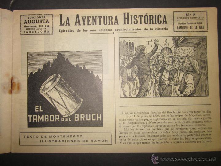 Tebeos: LA AVENTURA HISTORICA - EL TAMBOR DEL BRUCH - PONSA IMPRESOR - (COM - 275) - Foto 2 - 46158088