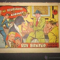 Tebeos: ROY BAXTER - HA DESAPARECIDO UN CADAVER - GRAFICAS MARCO -(COM - 278). Lote 46158195