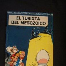 Tebeos: LAS AVENTURAS DE ESPIRU Y FANTASIO - Nº 2 - EL TURISTA DEL MESOZOICO - 1965 - JAIMES LIBROS - . Lote 46187051